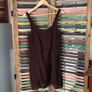 Plum quicksilver dress
